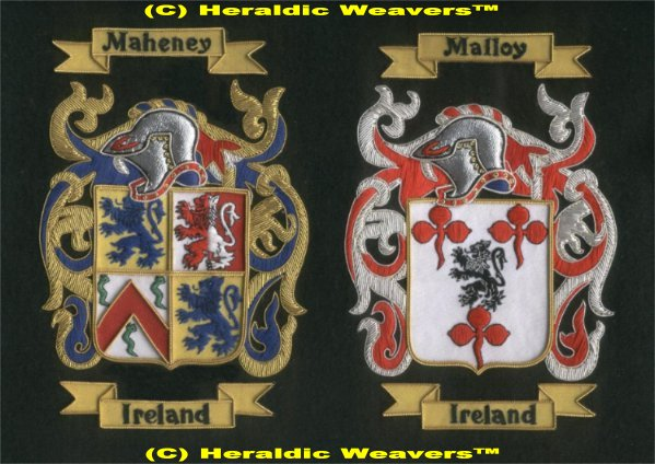 Heraldic Weavers(TM)Family Crest,Coat of arms gifts,Tapestry throws,coats of